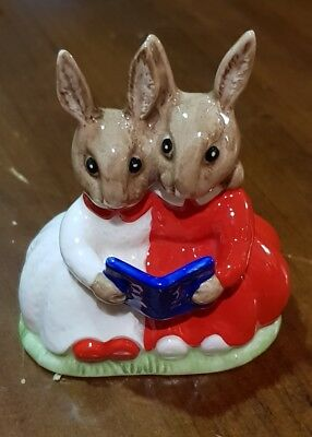 Royal Doulton Bunnykins Partners in Collecting DB151 Special Colorway