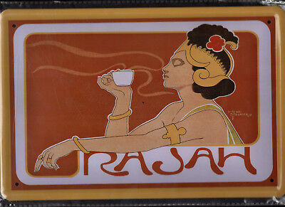 Blechschild 20x30 - NEU new Metal sign - Rajah Coffee-Henri Meunier