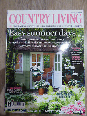 Country Living Magazine - August 2017 in Excellent Condition