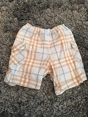 Baby Boy Burberry Shorts Size 6months