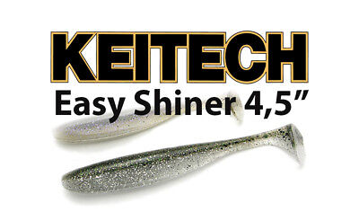 🔥 KEITECH EASY Shiner Bait Mold Shad Swimbait Soft Plastic