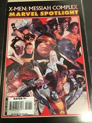 X-men Messiah Complex Marvel Spotlight