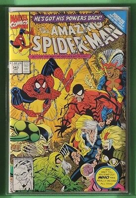 The Amazing Spider-Man #343 *HUGE AUCTION NOW* 1st Series ASM