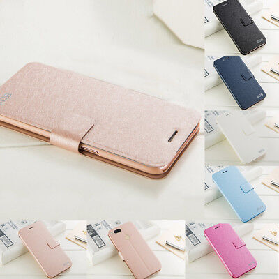 For Xiaomi Mi A1/5X/Note 4X Luxury Flip Leather Slim Wallet Magnetic Case Cover