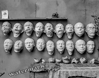 Photograph WWI Soldiers Medical Mutilated Face Masks by Ladd  Year 1918   8x10