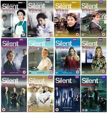BBC Silent Witness 1-19 Complete Series 1, 2, 3, 4, 5, 6, 7, 8, 9, 10, 11, 12, +