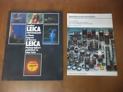 Vintage Applied Leica Photography Magazine - 6 Famous Leica Photographers