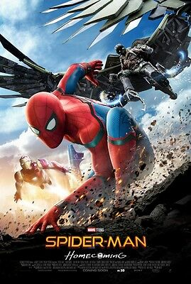 Spider-Man Regular Homecoming Double Sided Original Movie Poster 27x40