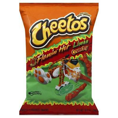 Cheetos Flamin Hot Limon Crunchy 8.5 oz (Pack of 3)