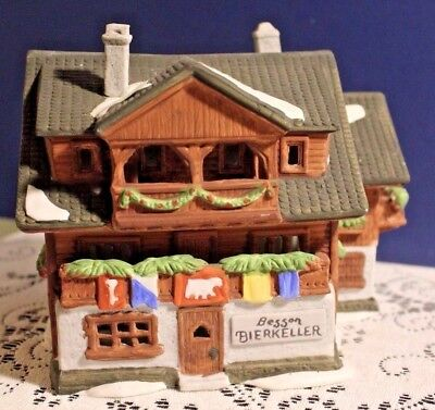 1986 Dept 56 Alpine Village Besson Bierkeller 65404