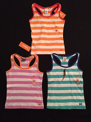 NWT Gymboree Girls TWO-PACK Bright and Beachy Striped Tanks Choose Size & Colors