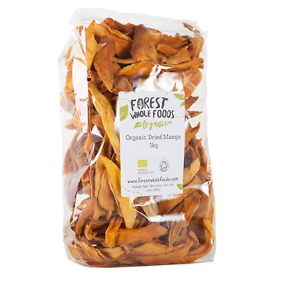 Forest Whole Foods - Organic Dried Mango (Brooks Variety) 5kg