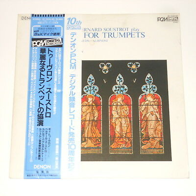 Denon PCM DIGITAL - Guy Touvron & Bernard Soustrot - LP - Concertos For Trumpets