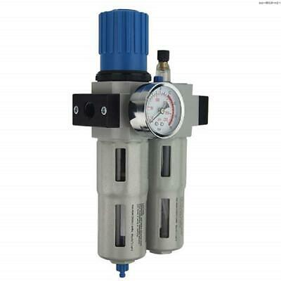 "Precise OU-4010-N1/2 Pneumatic 1/2"" Filter Regulator Lubricator"