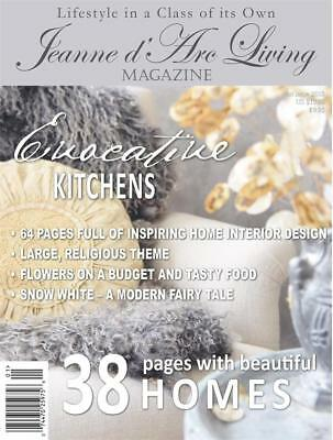 I SHIP 2 DAY NOT 11 DAY MEDIA MAIL JANUARY 2018 Jeanne d'Arc Living MAGAZINE #1