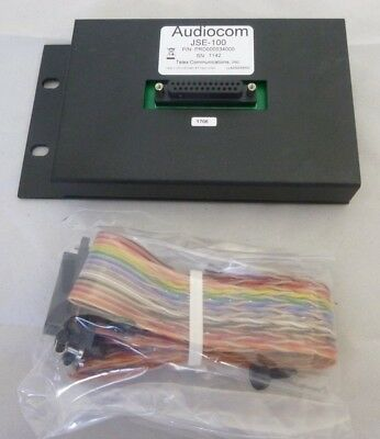 Audiocom Telex Jse-100 Expansion Panel Unit For Ic-100 Panel