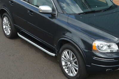 Aluminium Side Steps Bars Running Boards To Fit Volvo XC90 (2003-15)
