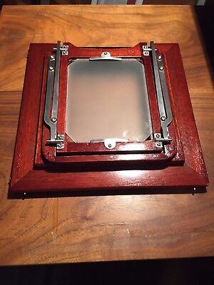 Deardorff 4x5 back for 4x5 Special and/or 5x7 models, mahogany and beautiful