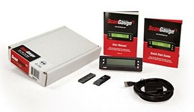 ScanGauge SGIIFFP Ultra Compact 3-in-1 Automotive Computer with Customizable