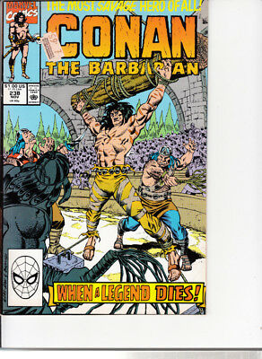 Marvel Conan the Barbarian, #238, 1990, Michael Higgins, Gary Hartle