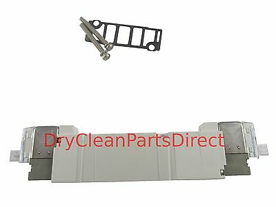 NEW Unipress Double Solenoid Valve 36676-00 for Uni Press Dry Cleaning Laundry
