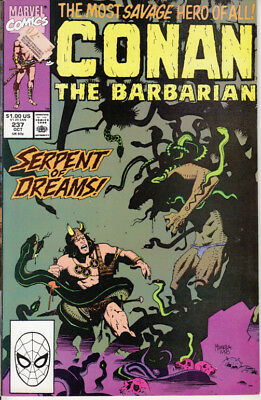 Marvel Conan the Barbarian, #237, 1990, Michael Higgins, Gary Hartle