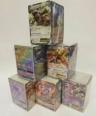 Pokemon MYSTERY Cube 200+/300+ Cards - Guaranteed EX/GX/HR/SR/FA!!? ENGLISH