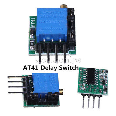 AT41 Delay Circuit Timing Switch Module 1s-40h 1500mA For Delay Switch Timer