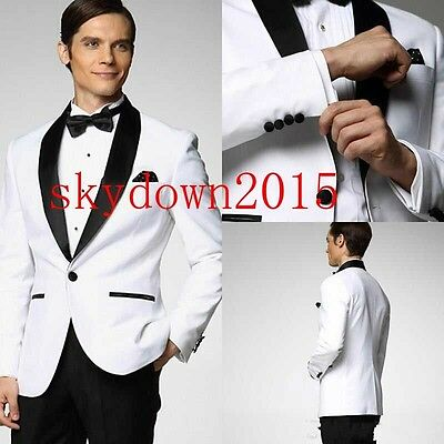 New Suits Jacket Tuxedo Bridegroom Black Necktie Pants Waist Girdle Hot Sale