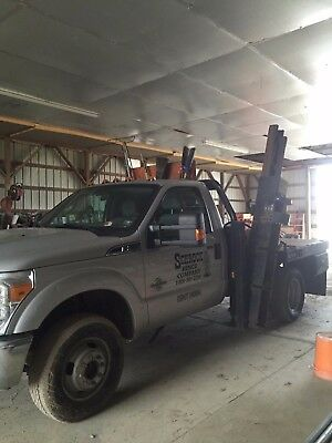 2011 Ford F-350  F350 with post pounding flatbed