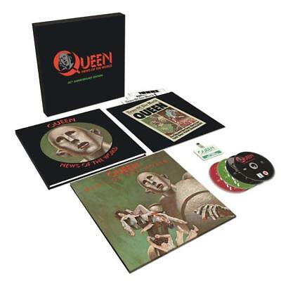 Queen - News Of The World (40th Anniversary Edition / Super Deluxe) (CD 30CM ...