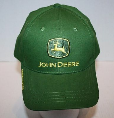 New Green John Deere Owner's Edition Adjustable Baseball Hat OSFA FREE Shipping!