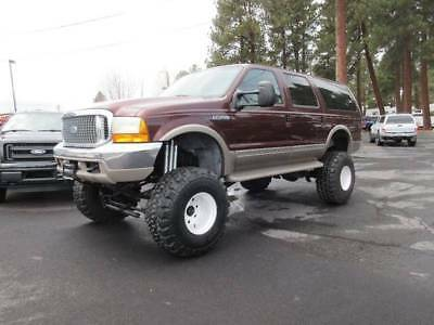 2001 Ford Excursion Limited 4WD 4dr SUV 2001 Ford Excursion Limited 4WD 4dr SUV Automatic 4-Speed 4WD V10 6.8L Gasoline
