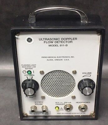 Parks Medical Electronics Model 811-B Ultrasonic Doppler Flow Detector