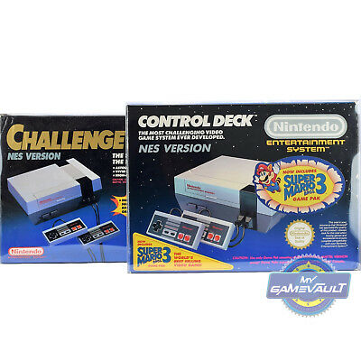1 x BOX PROTECTOR for NES Games Console Control Deck & Challenge Set 0.5 Plastic