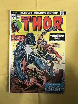 Thor (1962-1996 1st Series Journey Into Mystery) #224 FN Fine