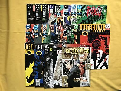 Lot of 20 Detective Comics (1937 1st Series) #604-848 FN-VF Very Fine