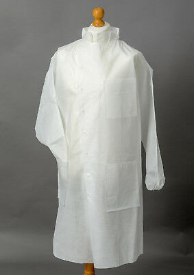 Premier Howie Coat Disposable White All Sizes X 5 Free Postage