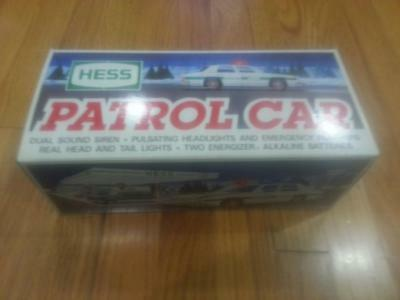 Hess Gasoline 1993 Toy Truck Patrol Car Police Cruiser MINT In Box PRIORITY SHIP