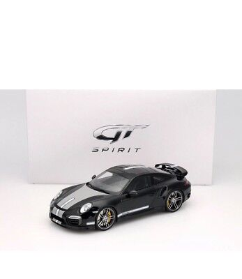 New 1/18 GT Spirit 2013 Porsche 911(991) Turbo S TechArt Black 504pcs