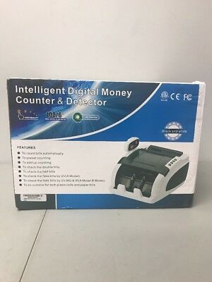 Money Counter Elite w/ Fast Count - UV/MG/IR Counterfeit Bill Detection Count...