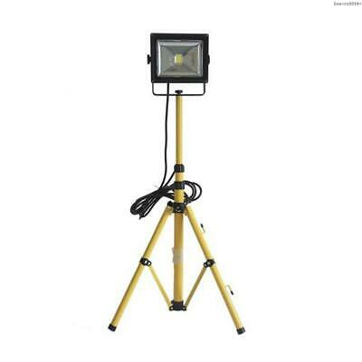 Pinyuan 30W Single-Head Adjustable LED Floodlight With Telescoping Tripod Stand