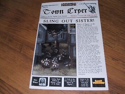 Games Workshop Town Cryer, issue 20, Mordhelm, c2002