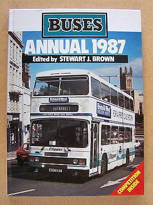 """buses Annual 1987."" British Buses. Transport Book."