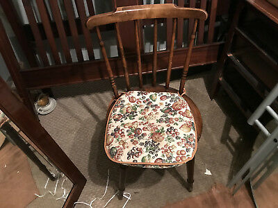 Vintage country chair