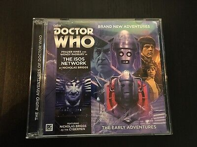 Doctor Who: 2.4 - The Isos Network (Big Finish, The Early Adventures, 2xCD)