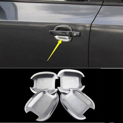Decoration Chrome Car Side Door Handle Bowl Cover Trim For Chevrolet Cruze 09-14