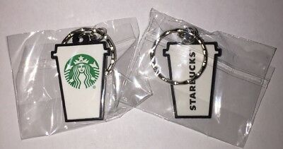 Starbucks New Logo To Go Cup Rubber Key Chain Keychain