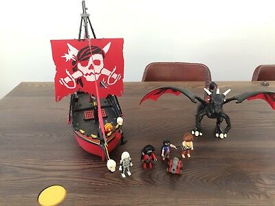 Playmobile Red Cosair | Playmobile Dragon with Knight