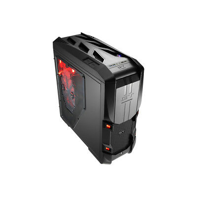 New Genuine Aerocool GT-S Black High-End Ultra Gaming Computer Case Full Tower